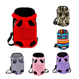 Adjustable Breathable Hands Free Dog Carrier Backpack 6 Colors 4 Prints