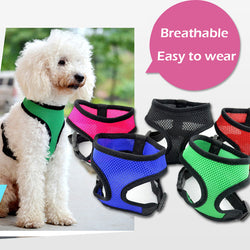 Adjustable Quick Release Breathable Mesh Harness
