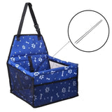Waterproof Bucket Style Dog Seat Carrier & Cover 5 Colors 4 Prints