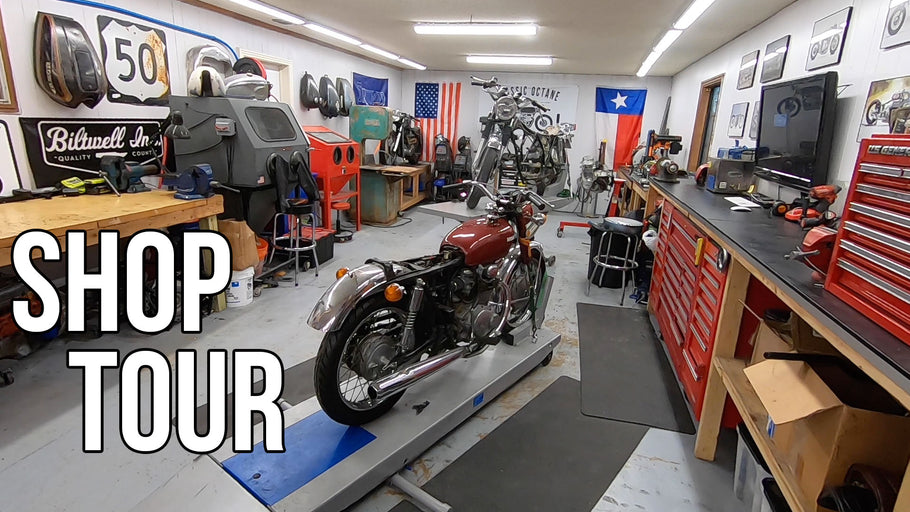 Building the Ultimate Motorcycle Workshop