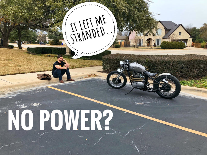 How to Diagnose a Motorcycle with No Power