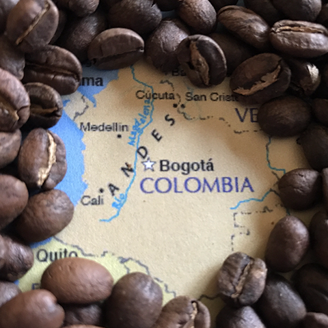 Colombia(Dark Roast) - 1 pound