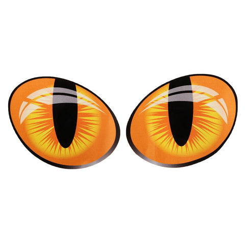 Pair D Funny Reflective Cat Eyes Car Stickers Truck Head Engine Rearview Mirror Window Cover Door C Fe F Cc C E Ee Ca F E Large