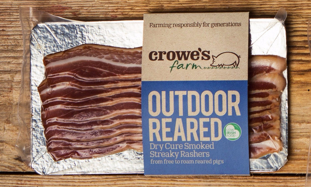 Outdoor Reared Dry Cure Smoked Streaky Rashers