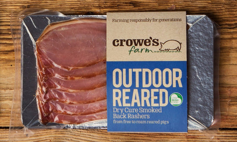 Outdoor Reared Dry Cure Smoked Back Rashers