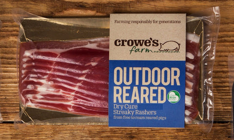 Outdoor Reared Dry Cure Streaky Rashers