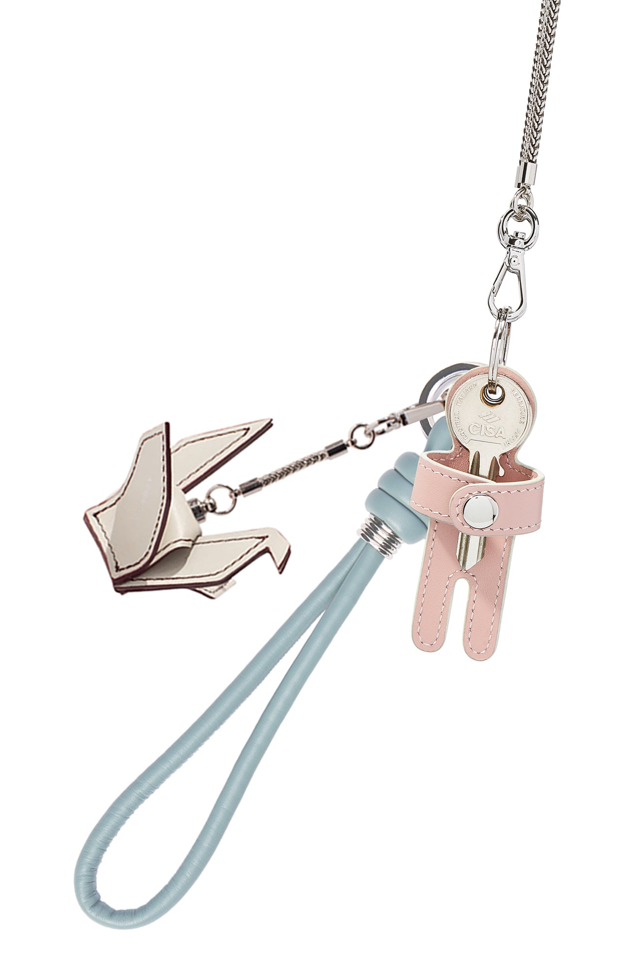 Keychain & Charm Necklace - HAN WEN STUDIO