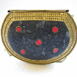 mosaic evening bag