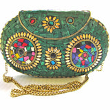 mosaic shoulder bag