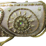 gold evening bag