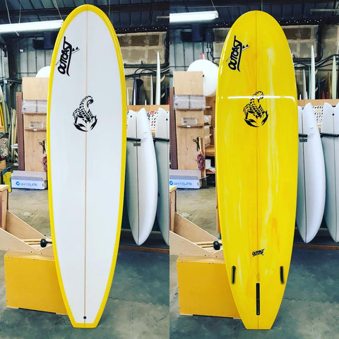 Outcast Surfboards Scorpion Series Custom Surfboards