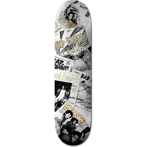 Element Bad Brains Skateboard Deck- 8.5