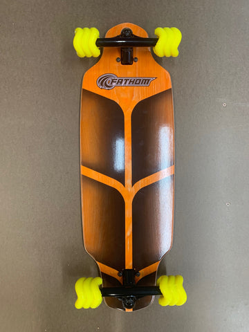 Shark Wheels Fathom Roam Mini Drop Complete Skateboard