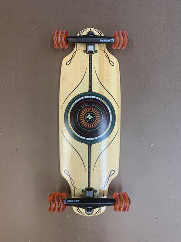 SHARK WHEELS ASTRAL DROP-THRU COMPLETE SKATEBOARD