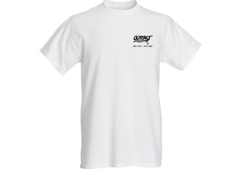 "Outcast ""Surf to Live"" Short Sleeve T-Shirt"