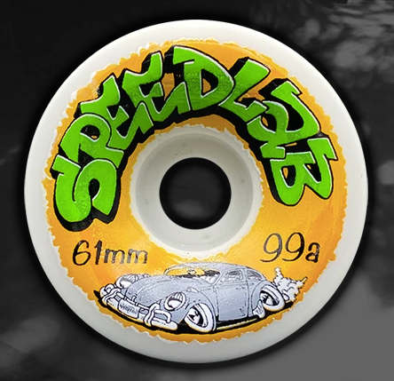 Speedlab Artist Series Jason Wharton 61MM Skateboard Wheels