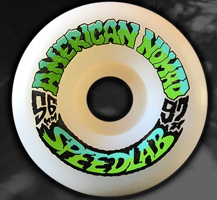 Speedlab Nomads 56mm/97A Skateboard Wheels