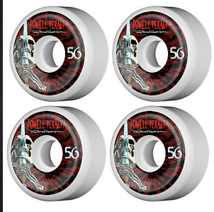 Powell Paralta Park Rippers 56MM Park Rippers BLK/RED