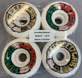 Speedlab McRad Weakness 60MM 101a White Skateboard Wheels