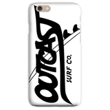 Outcast Phone Case- White