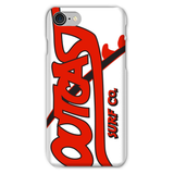 Outcast Phone Case- Red