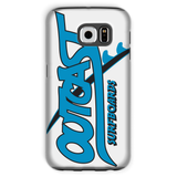 Outcast Phone Case- Blue
