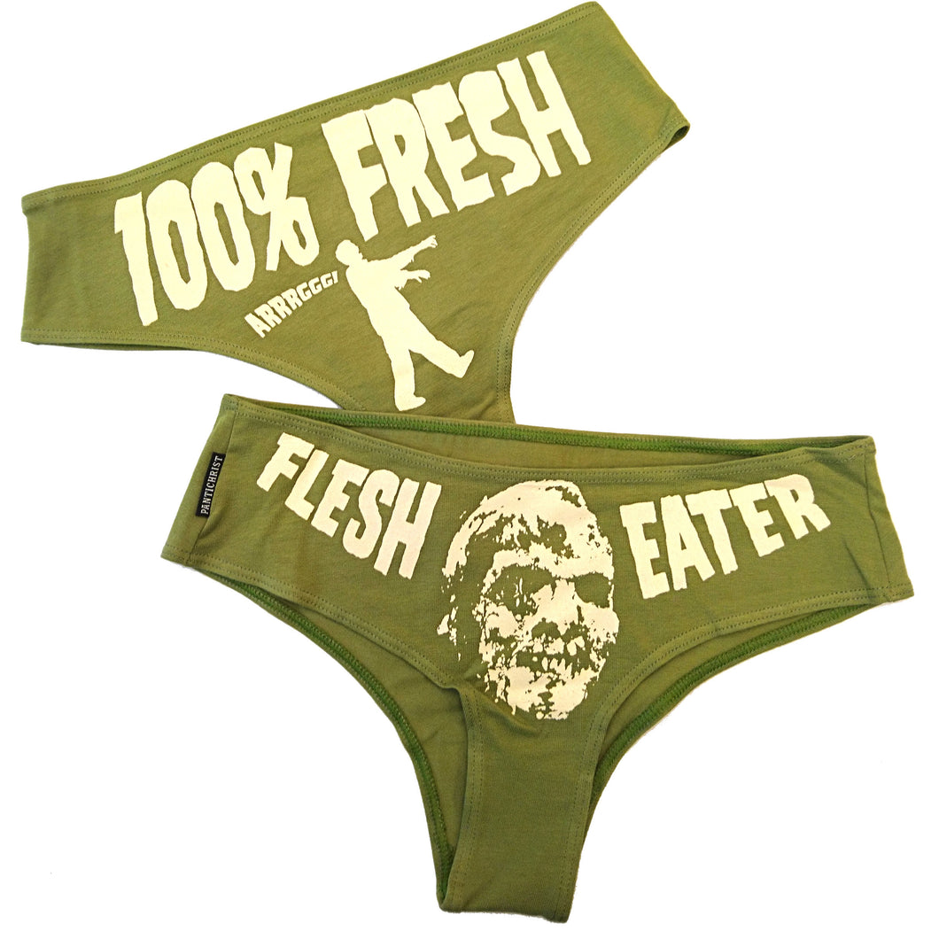 Panti-Christ - Flesh Eater - Green Panty