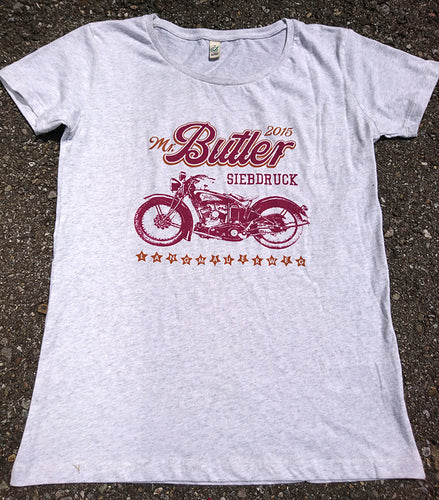 MISTER BUTLER MOTORCYCLE T-SHIRT
