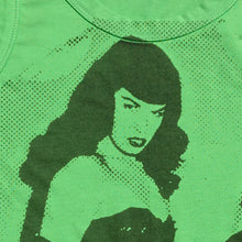 PANTI-CHRIST BETTIE PAGE TANKTOP - GREEN