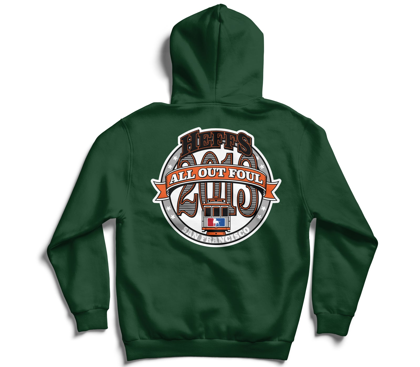 *AOF x Heffs Barbershop 7 Year Anniversary Champion Hoodie (Green)