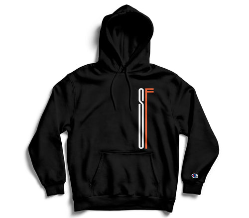 *AOF x Heffs Barbershop 7 Year Anniversary Champion Hoodie (Black)