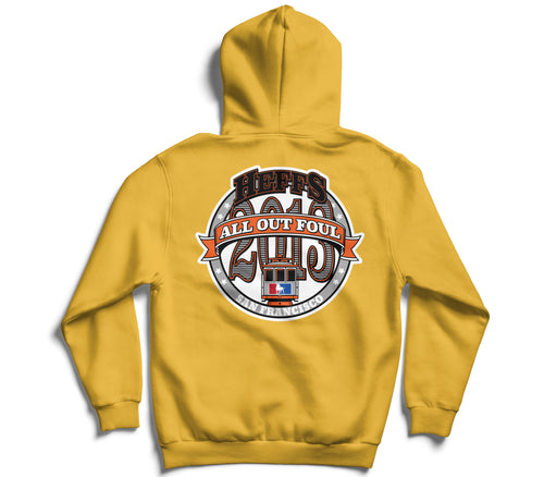 *AOF x Heffs Barbershop 7 Year Anniversary Champion Hoodie (Yellow Gold)