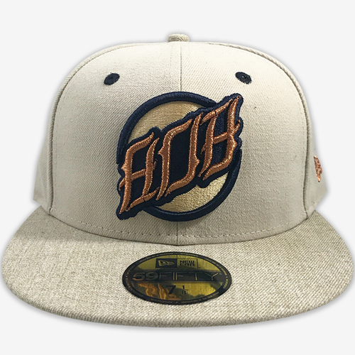 808 AOF Cream New Era Fitted