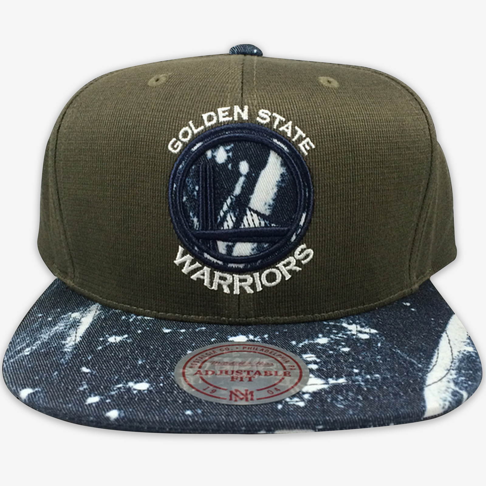 Golden State Warriors Mitchell & Ness Strapback