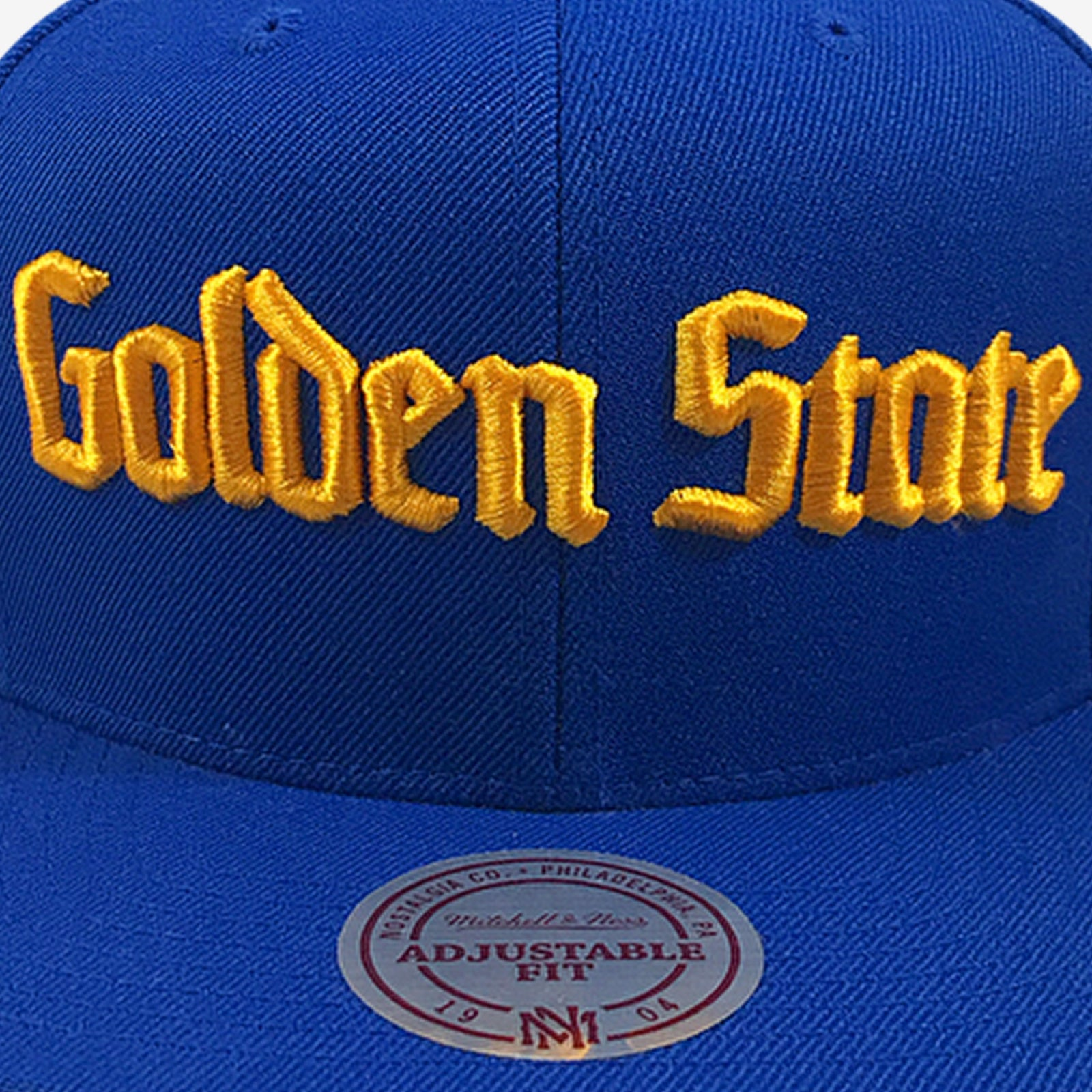 84583a589 Golden State Warriors City Names Mitchell & Ness Snapback – alloutfoul