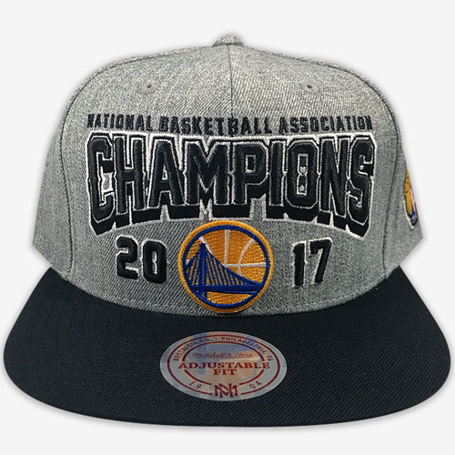 Golden State Warriors 2017 Championship Mitchell & Ness Snapback