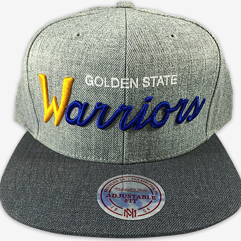 San Francisco Warriors Mitchell & Ness Snapback