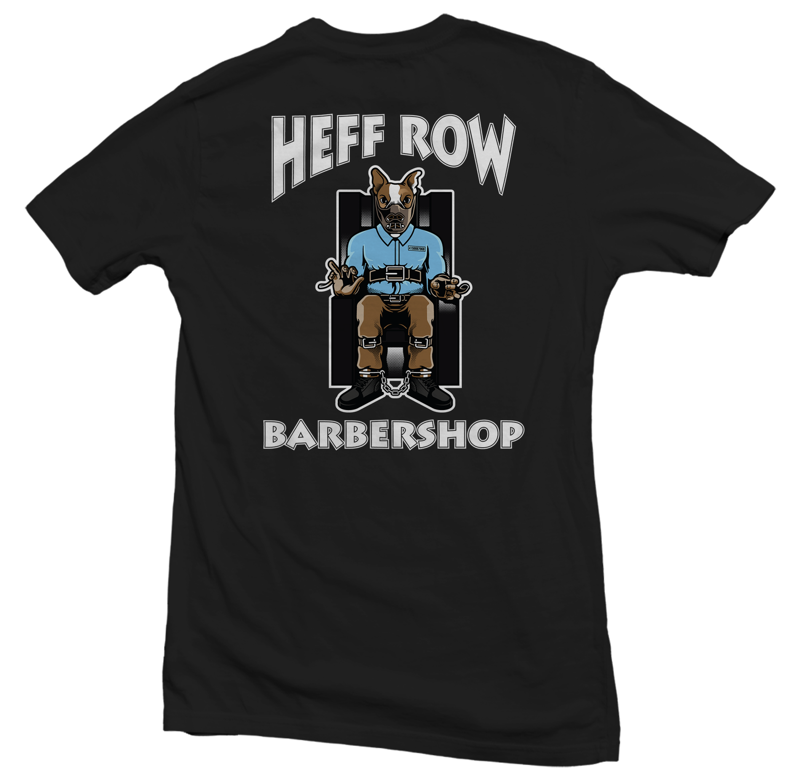 Heffs Row Black