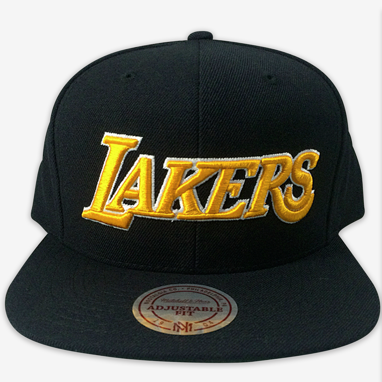 fb679e6bb3f464 Los Angeles Lakers Mitchell & Ness Snapback – alloutfoul