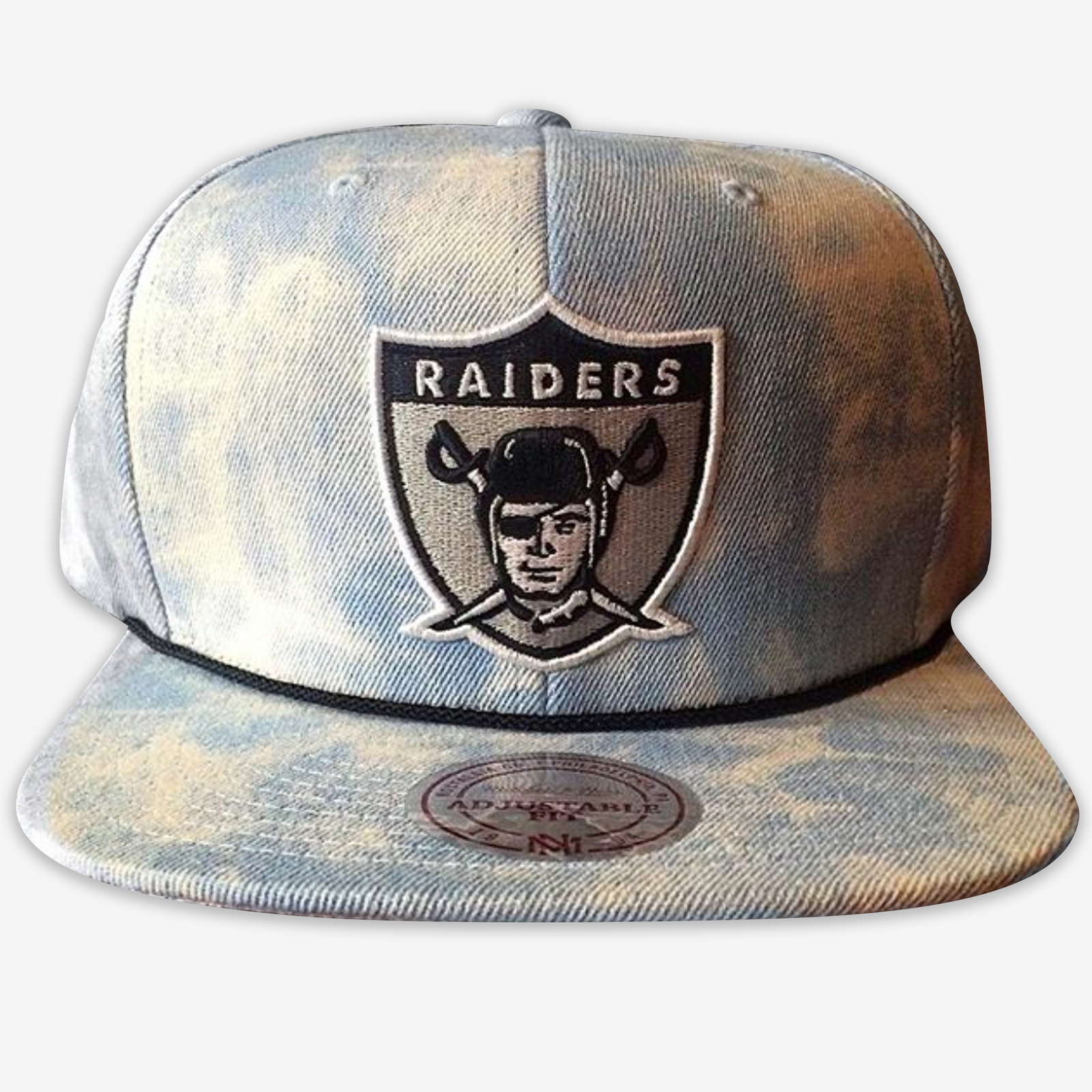 Oakland Raiders Mitchell & Ness Snapback