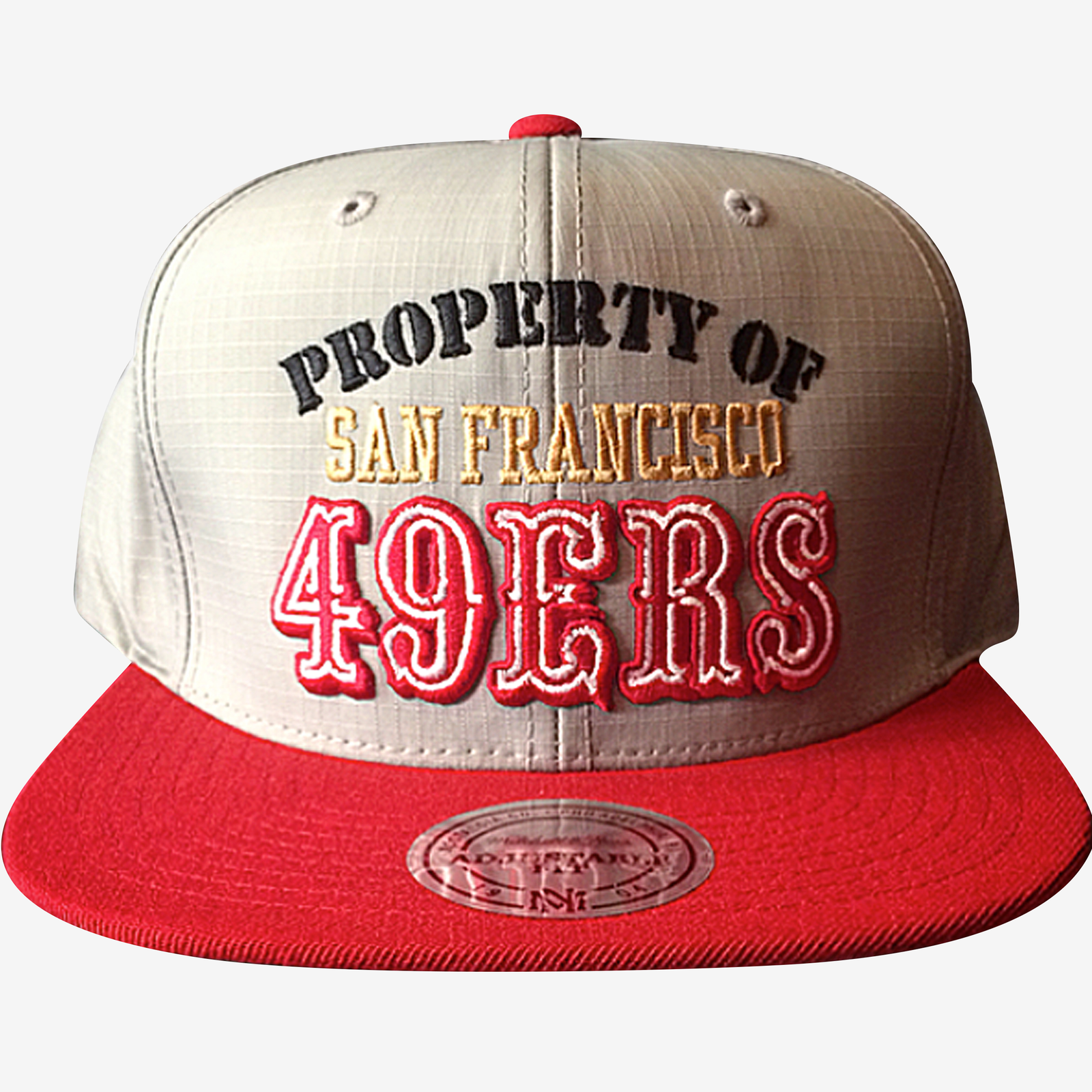 San Francisco 49ers Mitchell & Ness Zipperback
