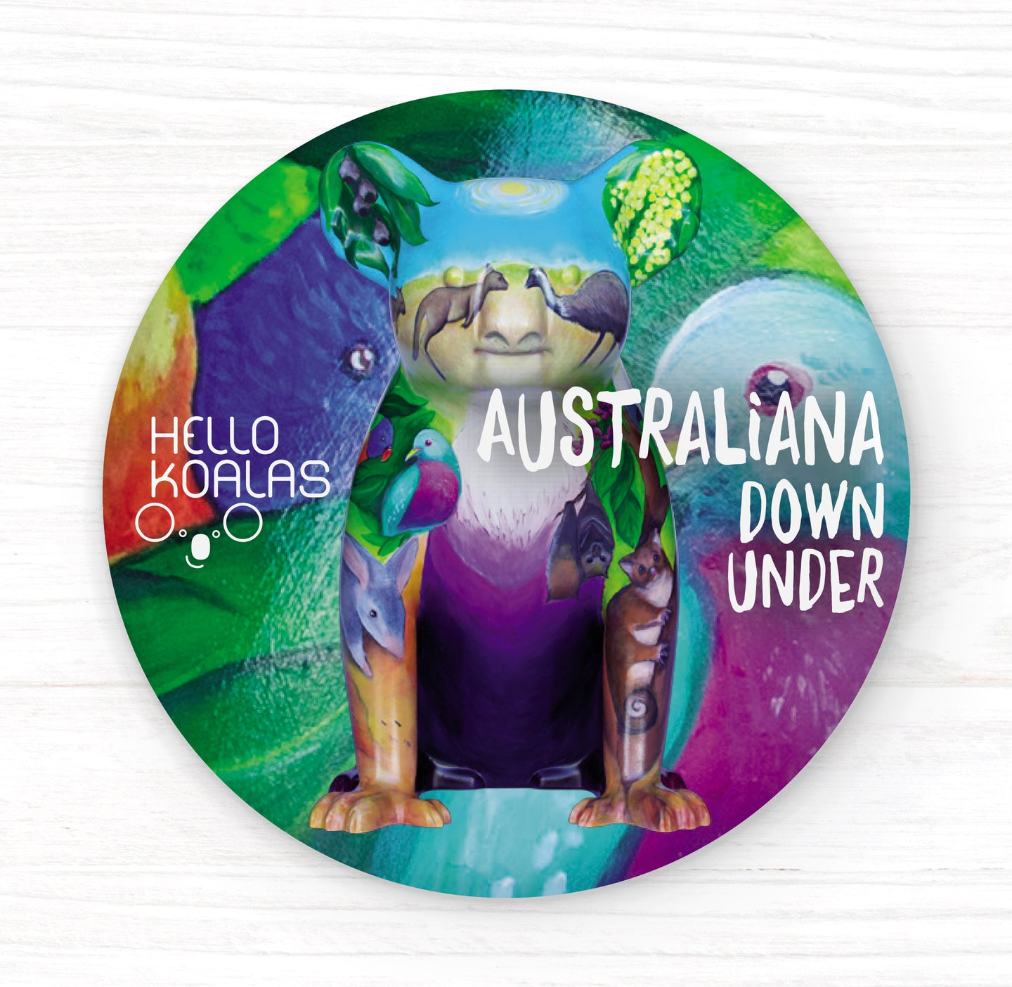 Hello Koalas Australiana Down Under Magnet