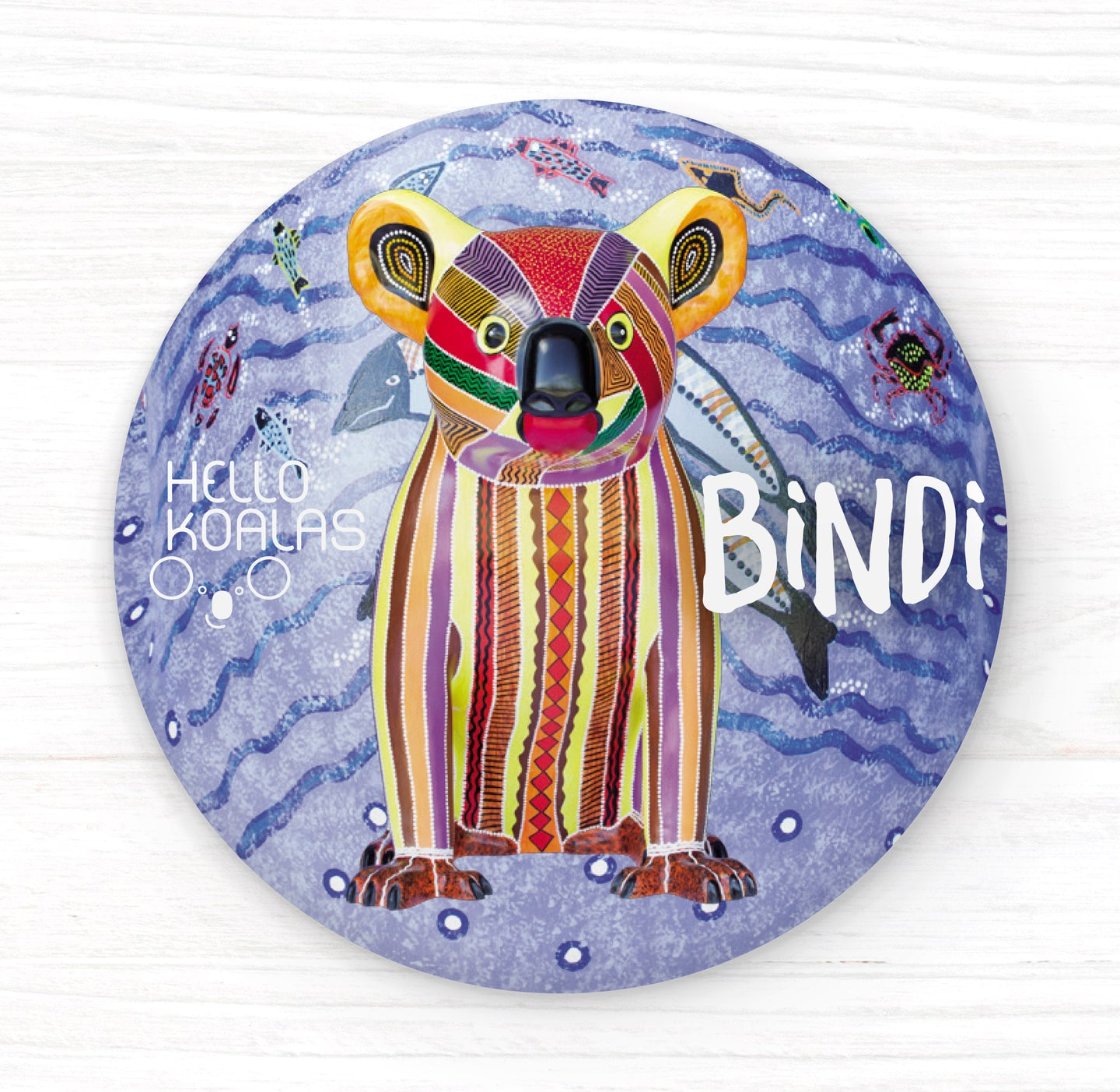 Hello Koalas Bindi Badge