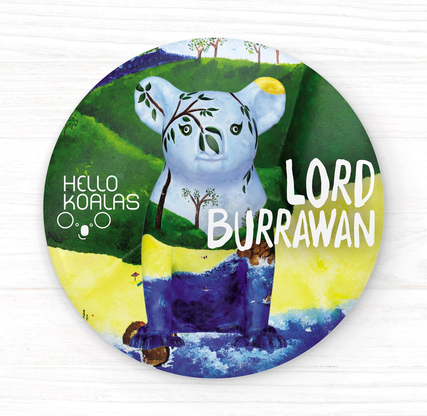 Hello Koalas Lord Burrawan Badge