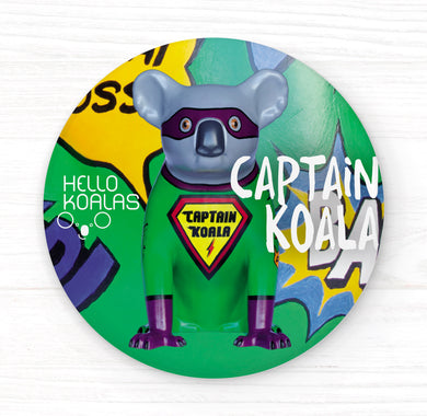 Hello Koalas Captain Koala Badge