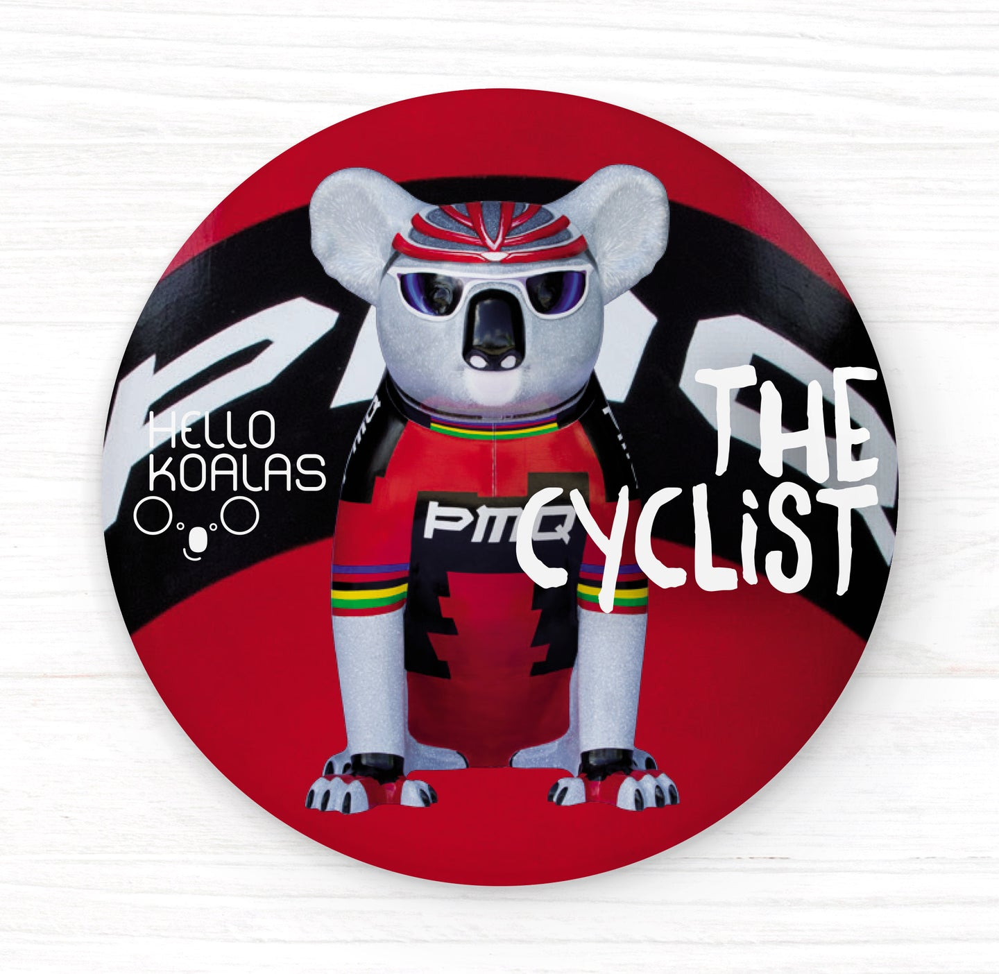 Hello Koalas The Cyclist Badge