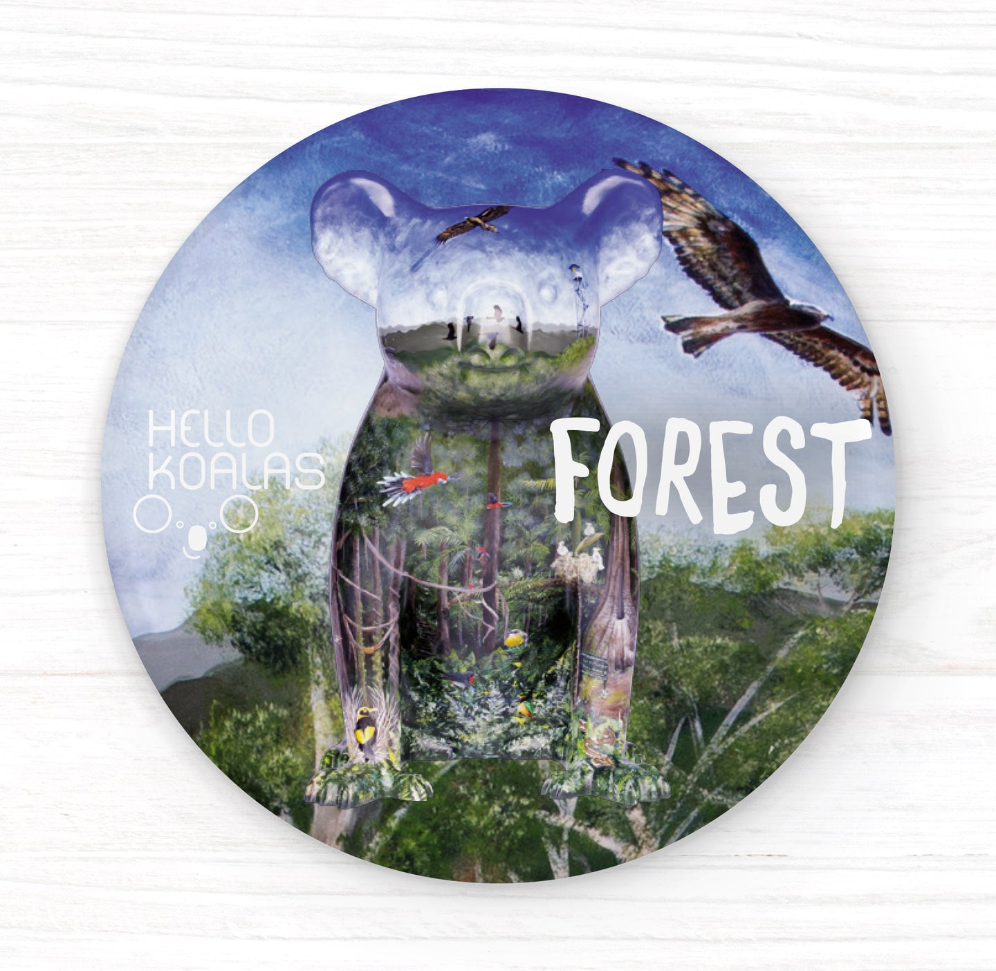 Hello Koalas Forest Badge