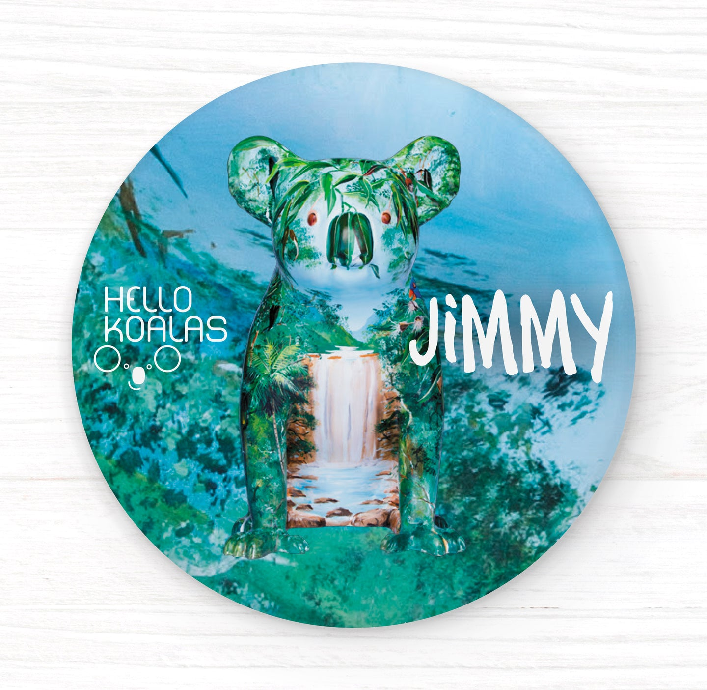 Hello Koalas Jimmy Badge