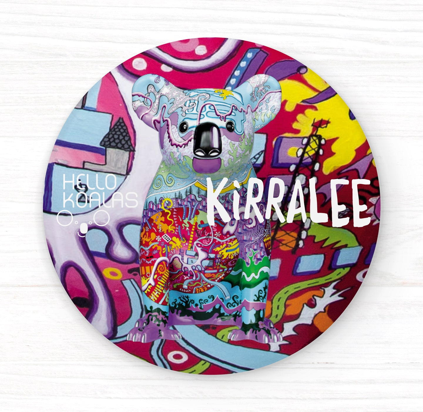 Hello Koalas Kirralee Badge