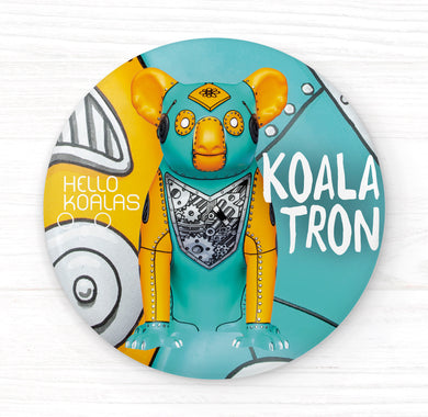 Hello Koalas Koalatron Badge